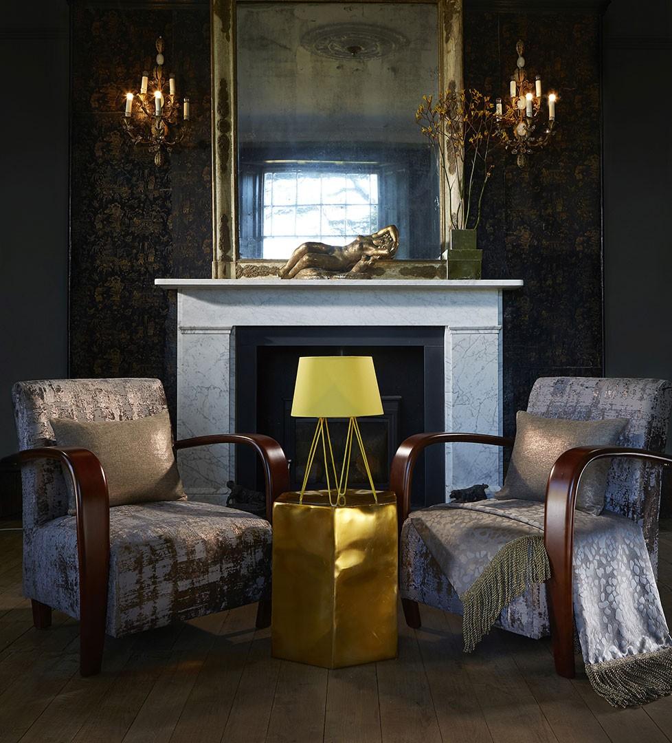 """Colectia """"Astor"""", toamna 2016 : tesaturi pentru draperii, tapet mural, tapiterie mobilier. Preturi 147-386 Ron / m.l."""