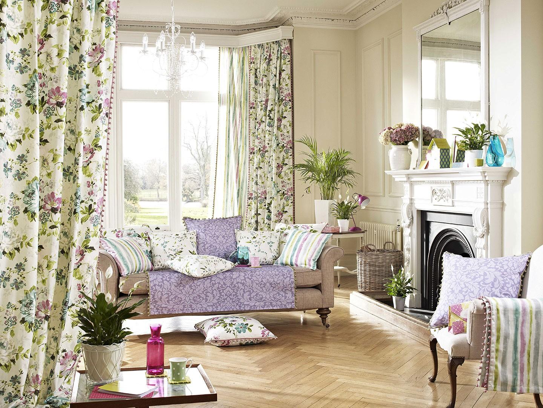 "Colectia ""Romantic Gardens"", 100% bumbac : draperii, tapet mural, tapiterie mobilier. Pret 92 Ron / m.l."