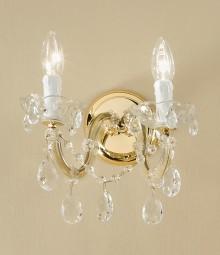 Aplica de perete, cristal austriac