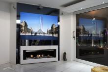 Televizor oglinda customizat