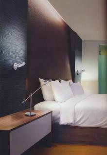 Lampa austriaca moderna de birou / noptiere, ce se poate roti, luminozitate ajustabila