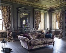 "Colectia ""Casa Toamnei"" : draperii, tapet mural, tapiterie mobilier. Preturi intre 276-676 Ron / m.l."