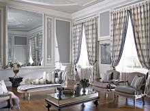 "Colectia ""Empire"" : tesaturi din matase pentru  draperii, tapet mural, tapiterie mobilier. Pret 473 Ron / m.l."