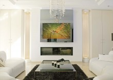 "Televizor oglinda customizat - ""piatra mica"" ON"