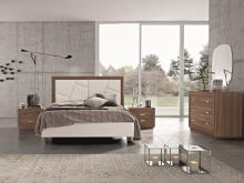 Mobilier modern din lemn de nuc, dormitor personalizabil
