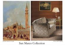 """Colectia de tesaturi italiene - """"San Marco"""" - Damascuri si Lampasuri din fibre naturale"""