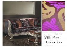 """Colectia de tesaturi italiene - """"Villa Este"""" - Damascuri si Lampasuri din fibre naturale"""